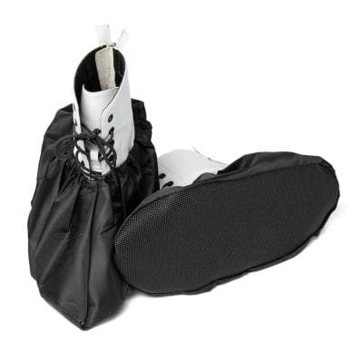 Premium Reusable Boot & Shoe Covers : Waterproof, Non-Slip, Stretchable Up To US Men's 13 & All Women's Sizes - 2 Pairs