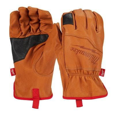 Large Goatskin Leather Gloves
