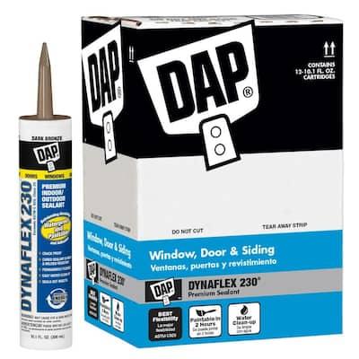 Dynaflex 230 10.1 oz. Dark Bronze Premium Exterior/Interior Window, Door and Trim Sealant (12-Pack)