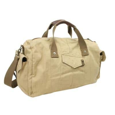 20 in. Classic Large Canvas Travel Duffel Bag