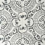 Baroque Stamp 8 in. x 8 in. Glazed Porcelain Floor and Wall Tile (5.28 sq. ft./Case)