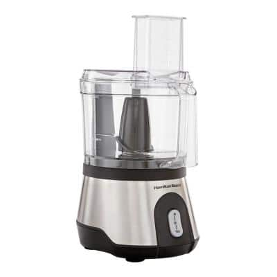 10-Cup 2-Speed Stainless Steel Food Processor with Pulse Control