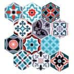 10.24 in. x 10.24 in. Moroccan Peel and Stick Tile (2.75 sq. ft./4-Pack)