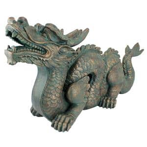 15 in. H Asian Dragon of the Great Large Wall Statue