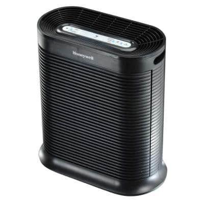 HEPA Air Purifier for Extra Large 465 Square Foot Rooms, Black