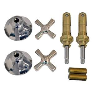 Tub and Shower Rebuild Kit for American Standard Nu-Renu 2-Handle Faucets