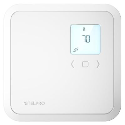 Digital Non-Programmable Thermostat for Electric Baseboards and Convectors in White