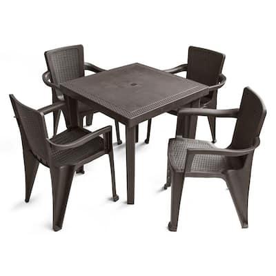 Mq Patio Dining Furniture, Outdoor Plastic Patio Furniture