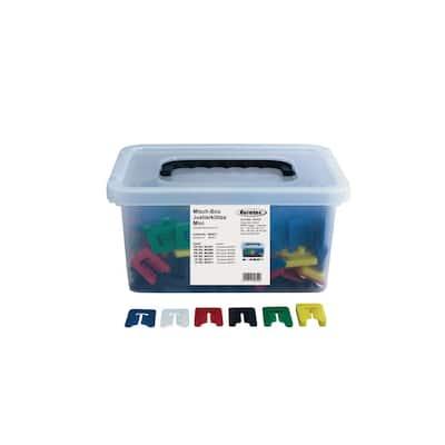 Adjustment Blocks Mini Mixed Box with Slit (450-Pieces/Box)