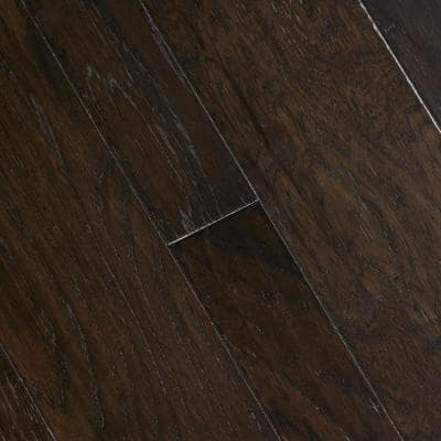 HS Distressed Lennox Hickory 3/8 in. T x 3-1/2 in. and 6-1/2 in. W x Varying Length Engineered Hardwood (26.25 sq.ft/cs)