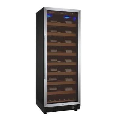 Vite II Tru-Vino Single Zone 99-Bottle Stainless Steel Right Hinge Wine Refrigerator