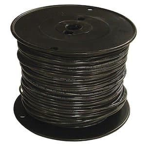 1000 ft. 6 Black Stranded CU SIMpull THHN Wire