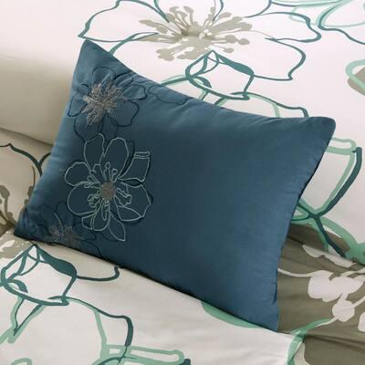 Skylar Floral Duvet Cover Set