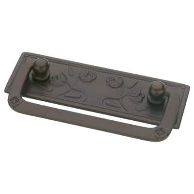 Provincial Antiques 2-1/2 in. (64mm) Center-to-Center Rubbed Bronze Bail Drawer Pull