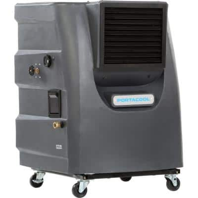 Cyclone 130 3000 CFM 2-Speed Portable Evaporative Cooler for 700 sq. ft.