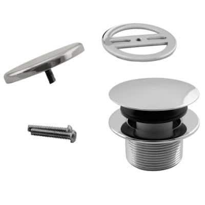 1-1/2 in. NPSM Round Mushroom Coarse Thread Drain with Illusionary Overflow Cover