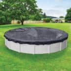 Economy 12 ft. Round Blue Solid Above Ground Winter Pool Cover