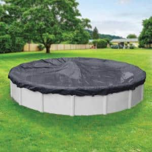 Classic 12 ft. Round Navy Blue Winter Pool Cover
