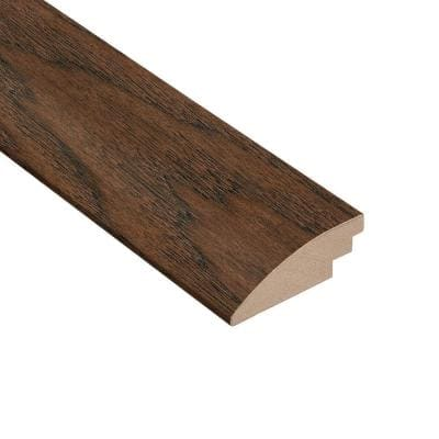 Wire Brushed Benson Hickory 3/8 in. Thick x 2 in. Wide x 78 in. Length Hard Surface Reducer Molding