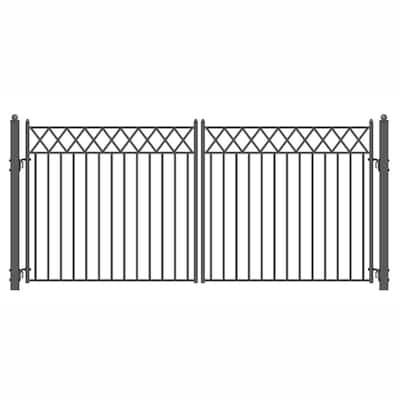 Stockholm 14 ft. x 6 ft. Driveway Gates Iron Gates