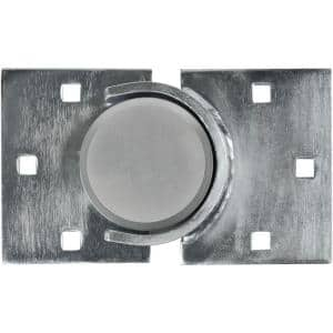 Combination Puck Lock and Round Hasp