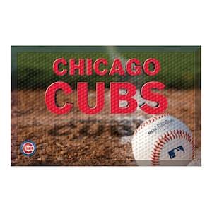 MLB - Chicago Cubs 19 in. x 30 in. Indoor/Outdoor Scraper Mat Door Mat
