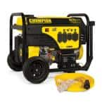 9375/7500-Watt Portable Generator with Electric Start and 25 ft. Extension Cord