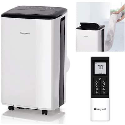 10000 BTU 6000 BTU DOE Portable Air Conditioner in White