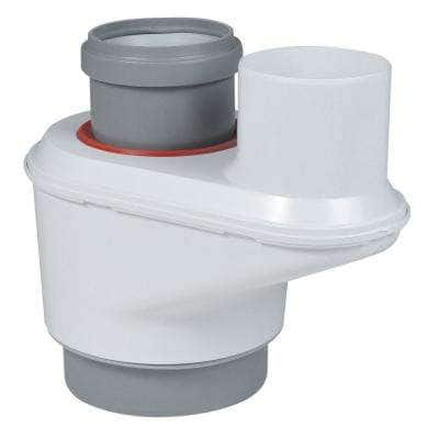 InnoFlue Reversible Concentric to Twin Pipe Adapter - 3 in./5 in. Dia