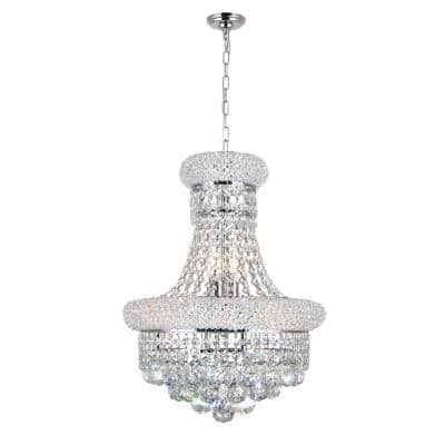 Empire 6-Light Chrome Pendant