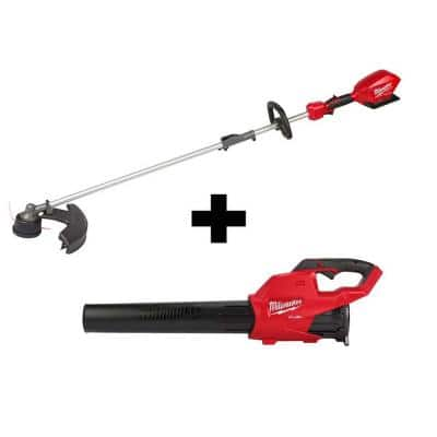 M18 FUEL 18-Volt Lithium-Ion Brushless Cordless QUIK-LOK String Trimmer and Blower Combo Kit (2-Tool)