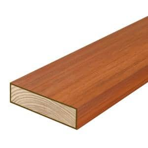 2 in. x 6 in. x 8 ft. #2 SYP Polymer Coated Western Red Cedar Tone Pressure-Treated Lumber