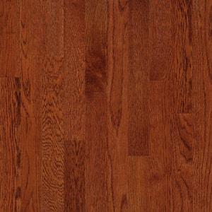 American Originals Ginger Snap Oak 3/4 in. T x 2-1/4 in. W x Varying L Solid Hardwood Flooring (20 sq. ft. /case)