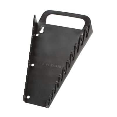 5.75 in. 11-Tool Store-and-Go Wrench Rack Keeper in Black