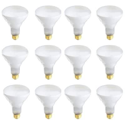 40-Watt Warm White (3000K) BR30 Dimmable Energy Saver Halogen Light Bulb (12-Pack)