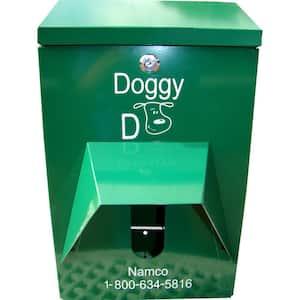 Pet Station Lockable Dispenser for Hanger and Roll Bags
