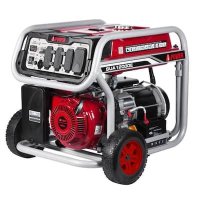 9000-Watt Gasoline Powered Electric Start Portable Generator