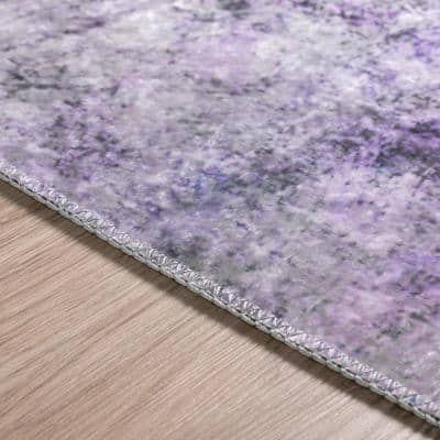 Galileo 5 Orchid 8 ft. x 10 ft. Area Rug