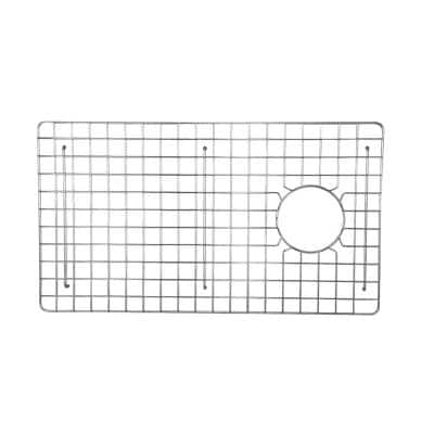 FS30 27 in. x 15 in. Wire Grid for Single Bowl Kitchen Sinks in Stainless Steel