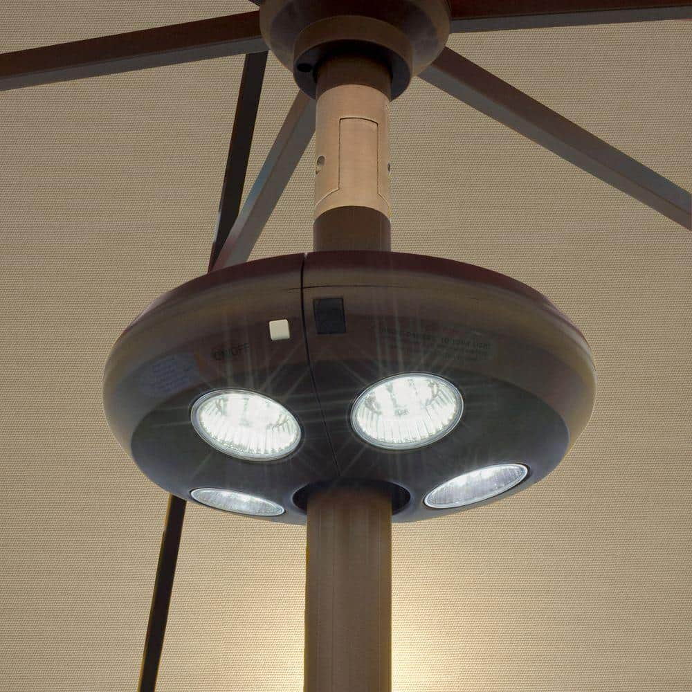 Island Umbrella Rechargeable LED Umbrella Light