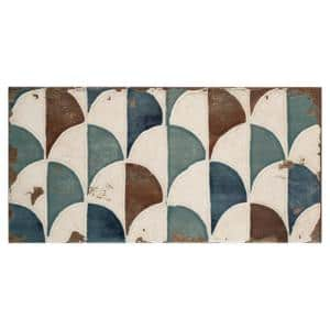Essenza Gondola 5-7/8 in. x 11-7/8 in. Ceramic Wall Tile (11.17 sq. ft./case)