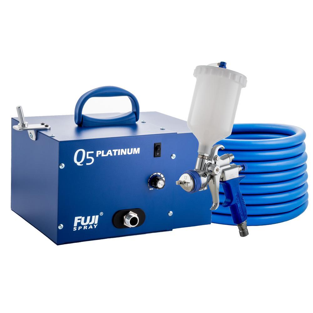 Q5 PLATINUM T75G Gravity HVLP Spray System