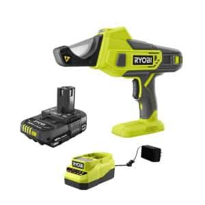 ONE+ 18V Cordless PVC and PEX Cutter and 2.0 Ah Compact Battery and Charger Starter Kit