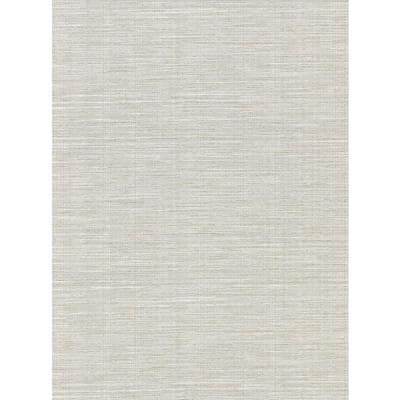 Bay Ridge Light Grey Faux Grasscloth Light Grey Wallpaper Sample
