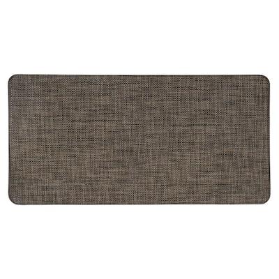 Modern Texture 20 in. X 39 in. Beige Anti-Fatigue Mat