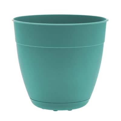 Dayton 8 in. Agate Green Plastic Planter