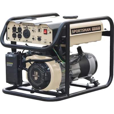 4,000-Watt/3,500-Watt Recoil Start Gasoline Portable Generator