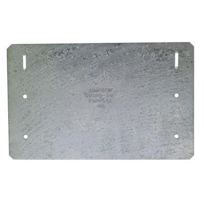 PSPNZ 5 in. x 8 in. ZMAX Galvanized Protecting Shield Plate Nail Stopper