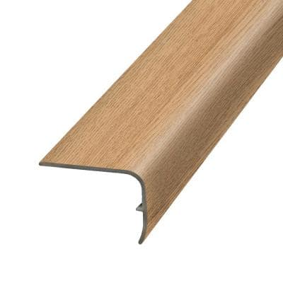 Golden 1.32 in. Thick x 1.88 in. Wide x 78.7 in. Length Vinyl Stair Nose Molding