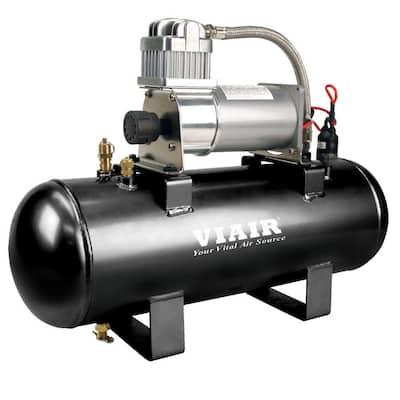 2.0 Gal. 150 PSI 12-Volt High-Flow Air Source Kit
